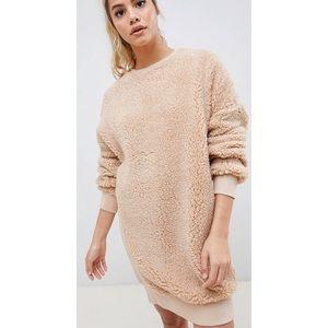Borg Sweater Dress